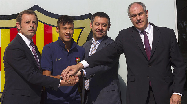 Neymar fitxatge Santos reclama 4,5 milions