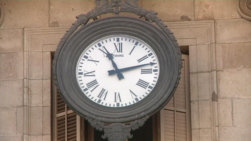 rellotge reforma horaria
