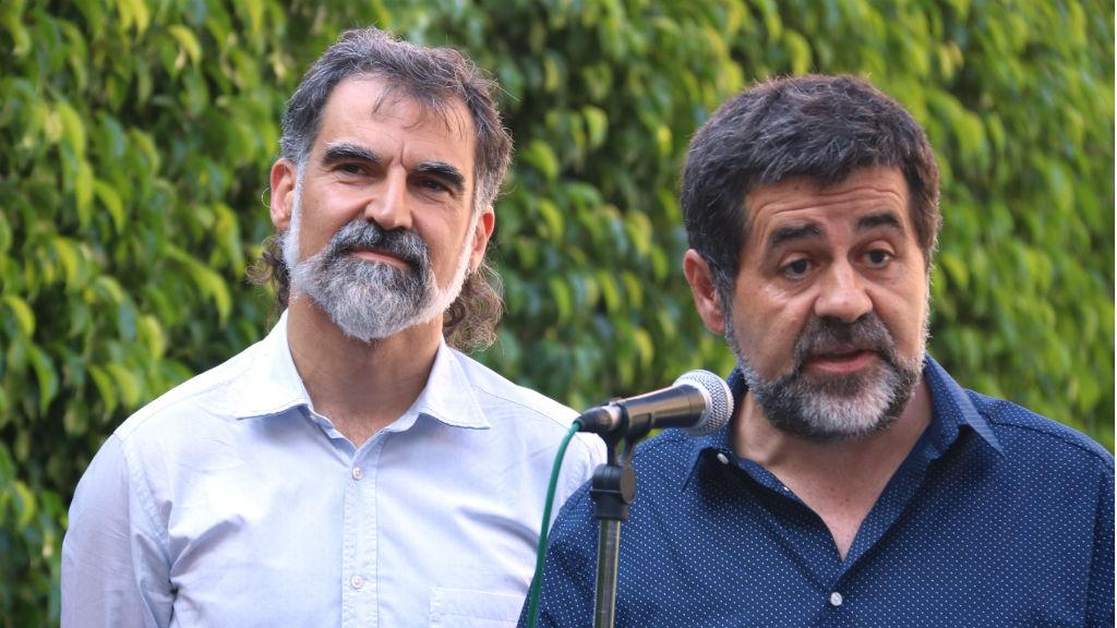 Jordi Cuixart i Jordi Sánchez