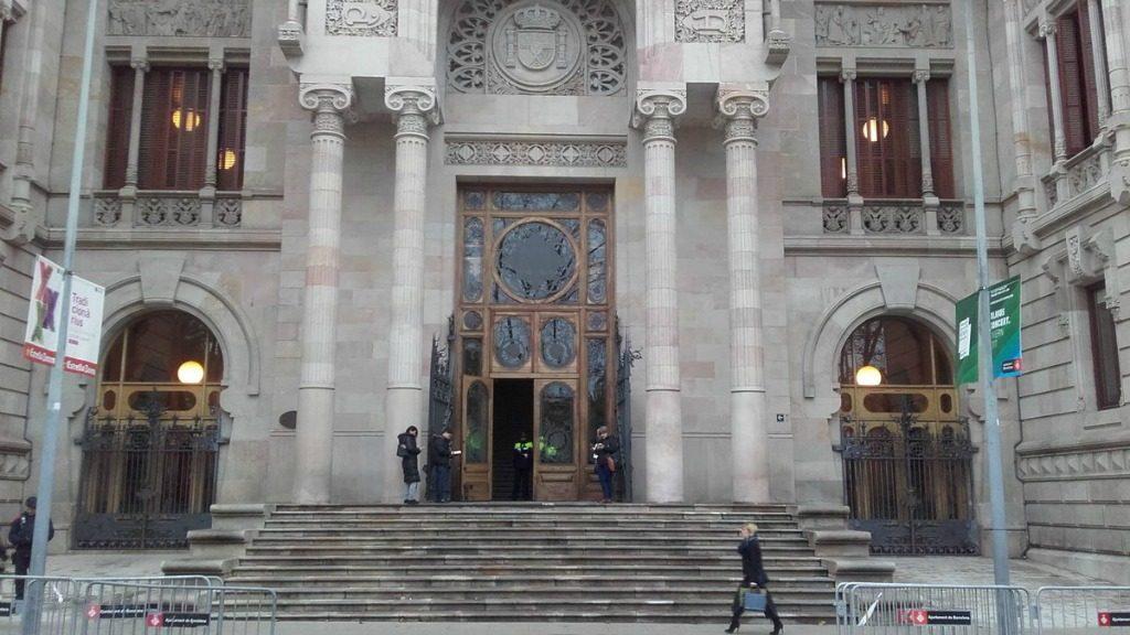 Seu del Tribunal Superior de Justícia de Catalunya