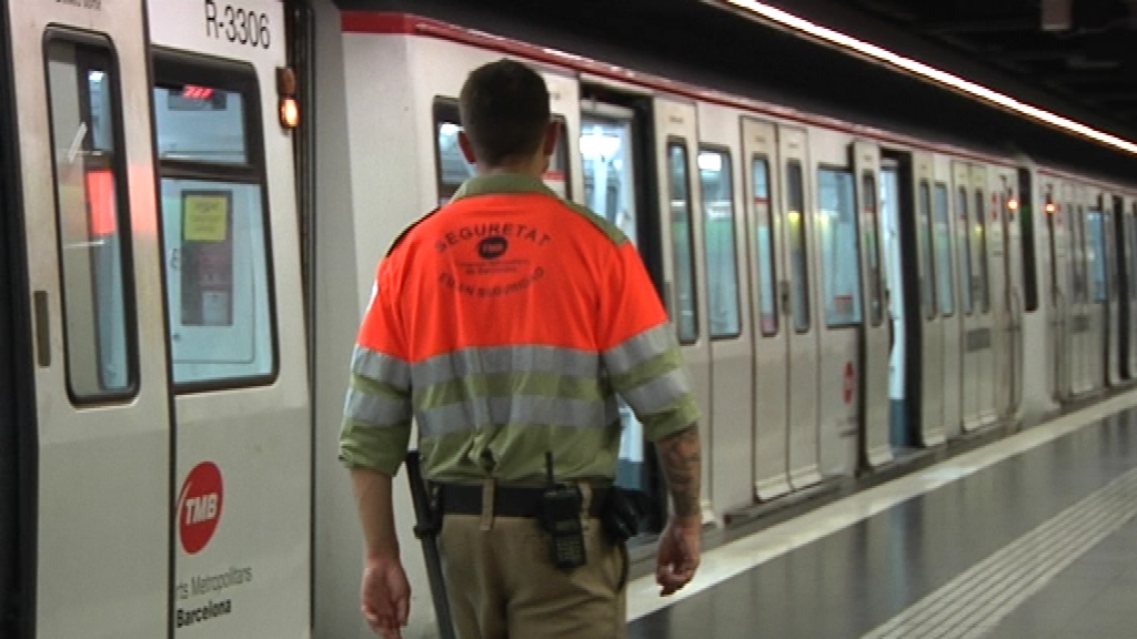 Vigilant de seguretat del metro