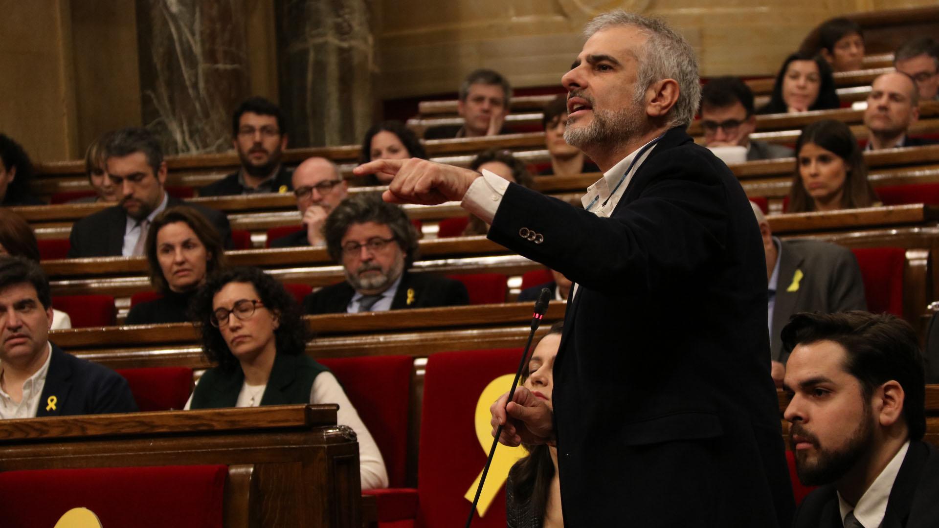 El diputat de Ciutadans, Carlos Carrizosa