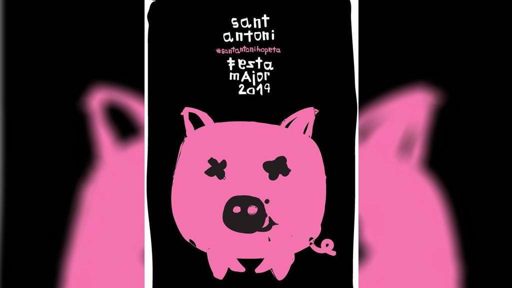 Festa Major de Sant Antoni 2019 cartell