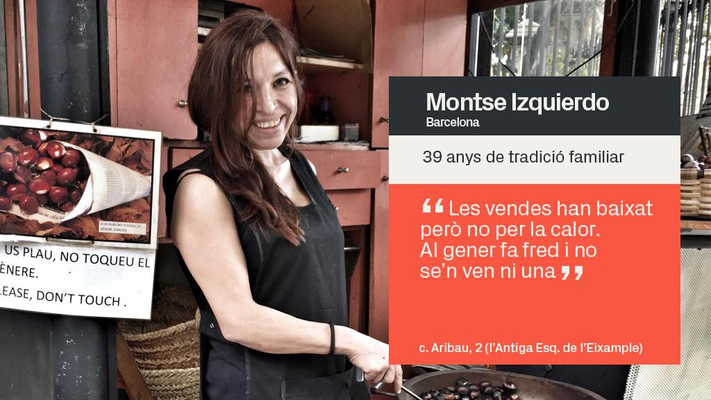 castanyera Montse Izquierdo
