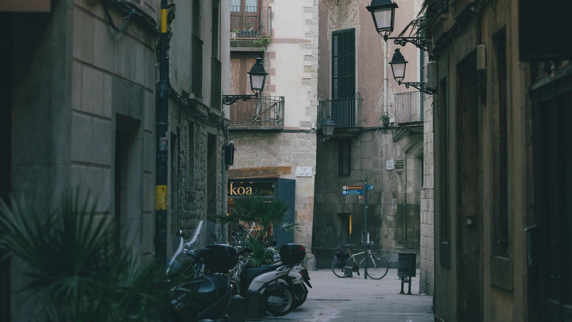 Imatge del barri Gòtic