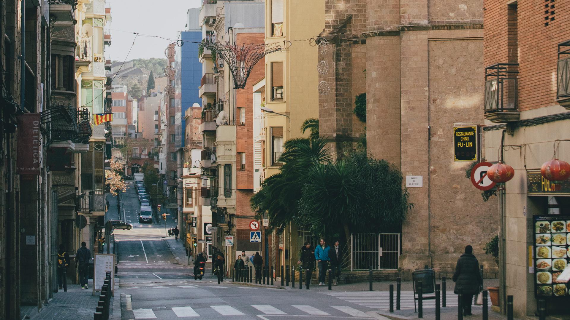 Imatge del barri d'Hostafrancs