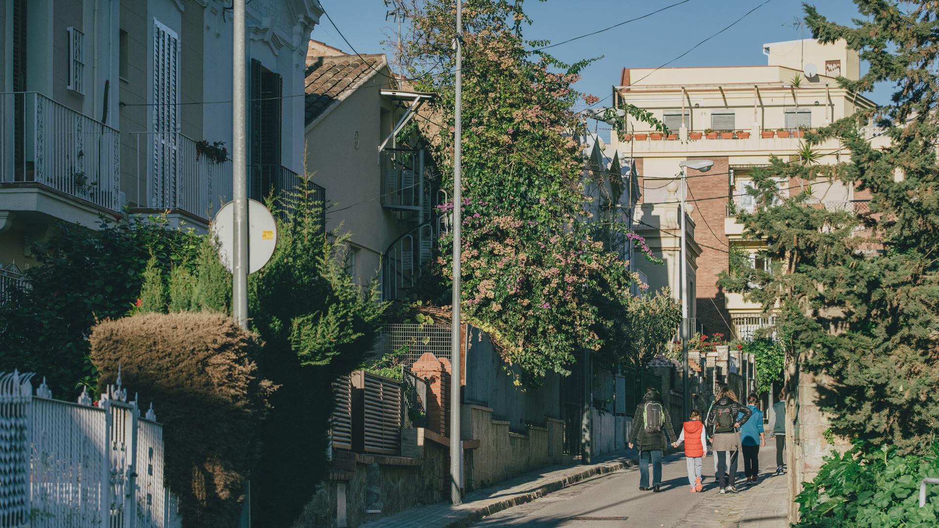 imatge del barri de la Font de la Guatlla