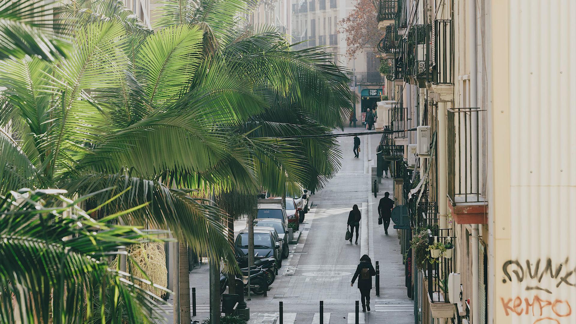 Imatge del barri de Sants-Montjuic