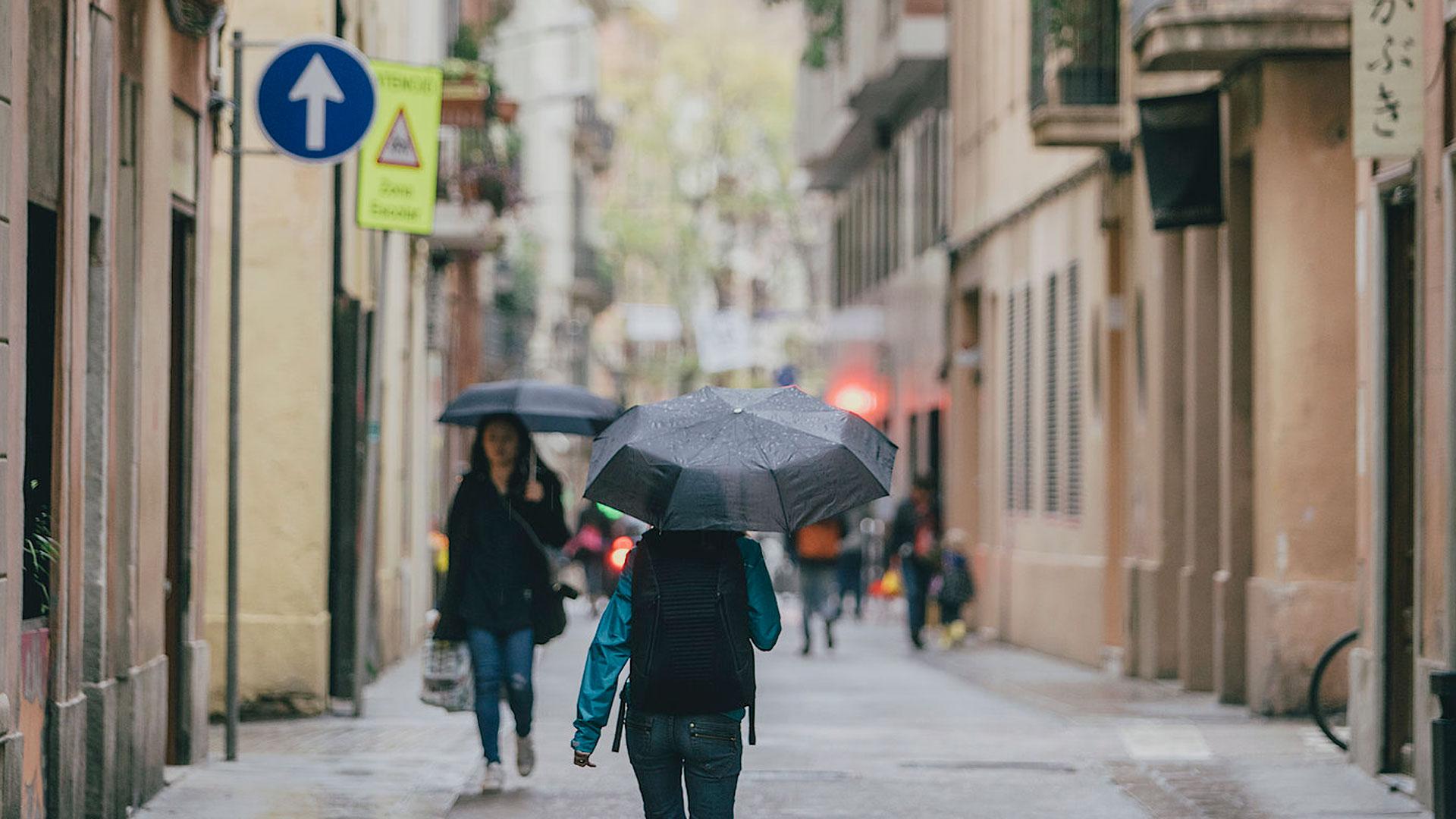 Imatge del carrer de Barcelona