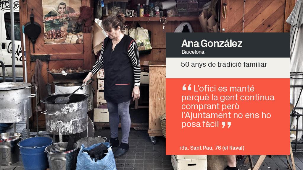 castanyera Ana González