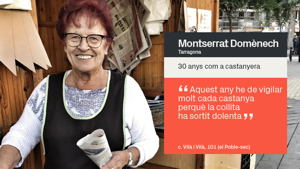 castanyera Montserrat Domènech
