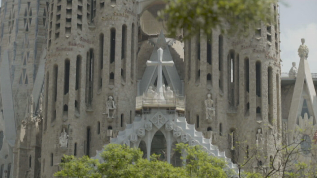Façana de la Passió de la Sagrada Família
