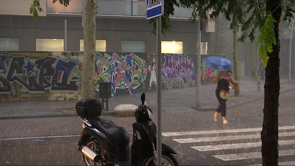 pluja Barcelona