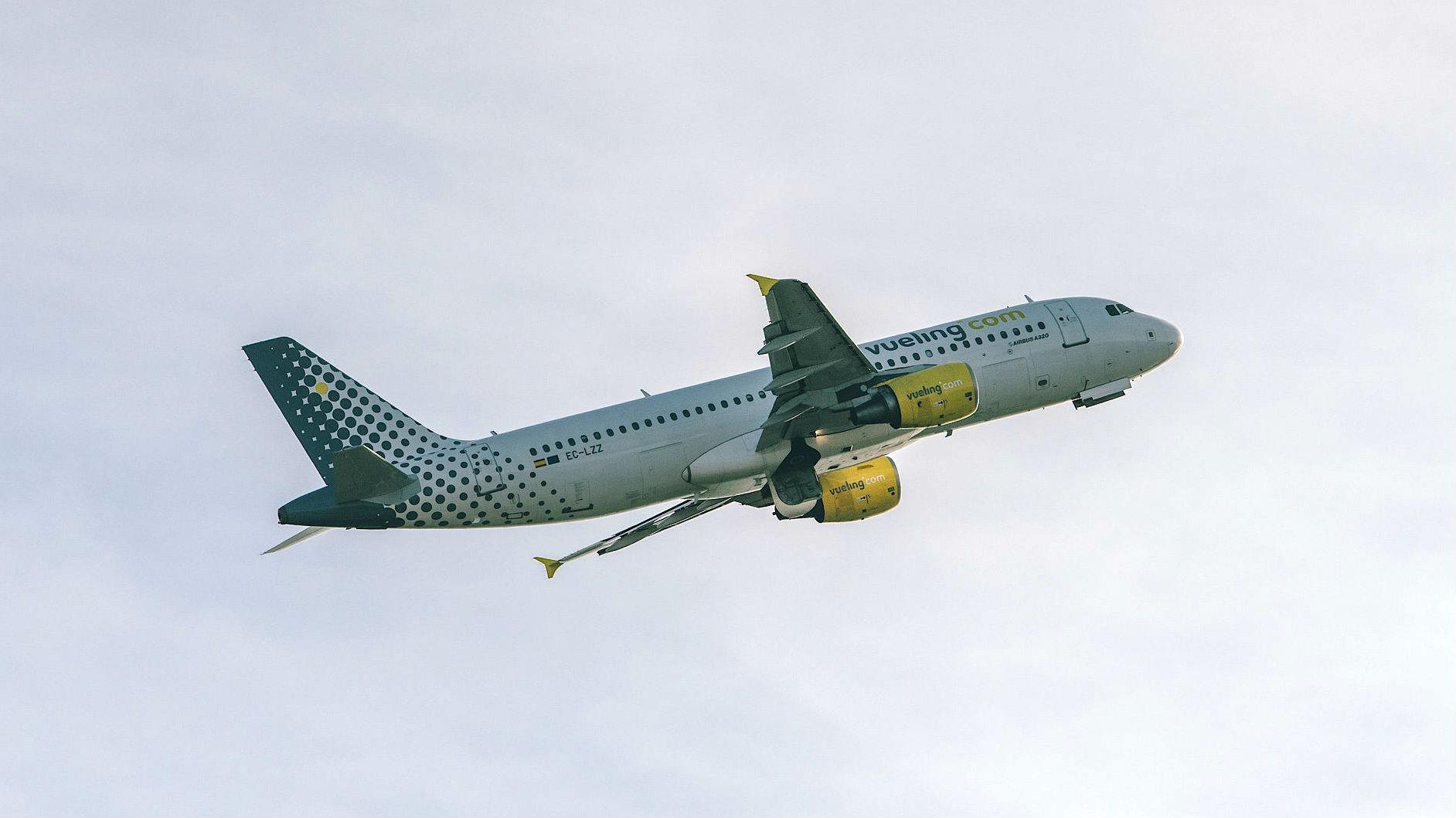 avio vueling vaga aeroport barcelona