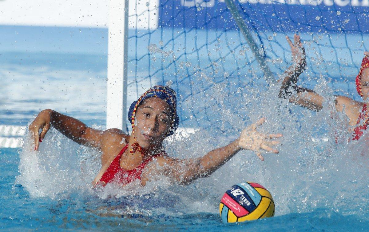 Espanya, medalla bronze europeu waterpolo femeni