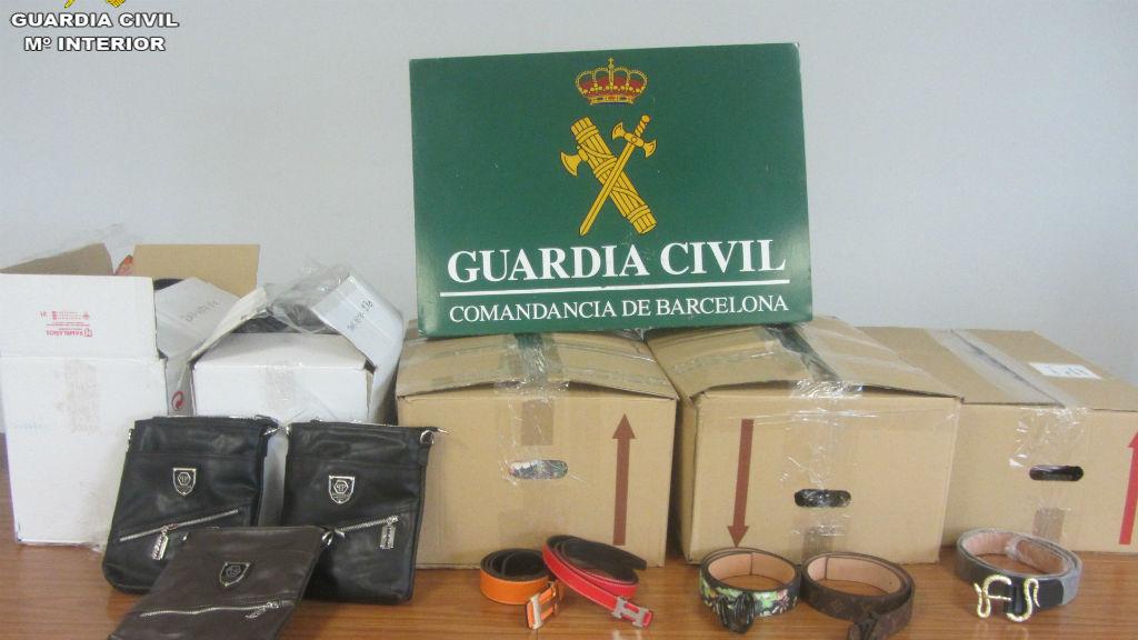 Guàrdia Civil material incautat Port