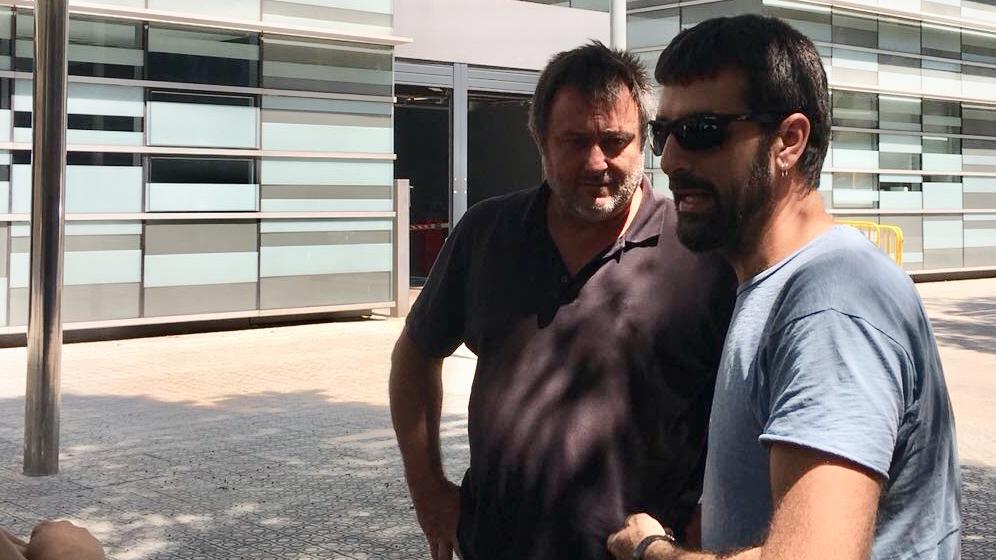 Jordi Borras presenta denúncia