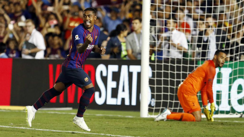El Barça guanya el Tottenham