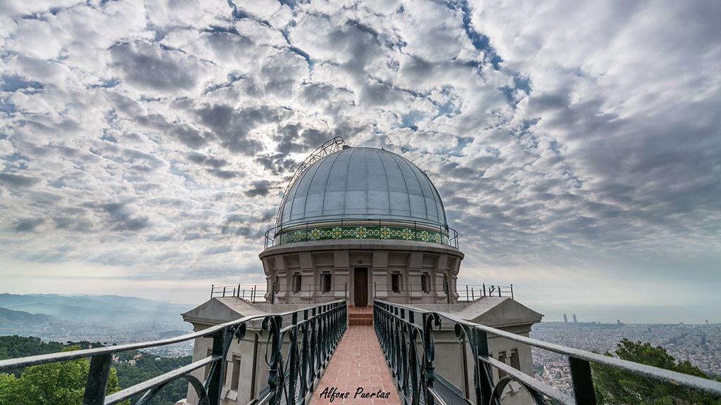 Imatge de l'edifici de l'Observatori Fabra