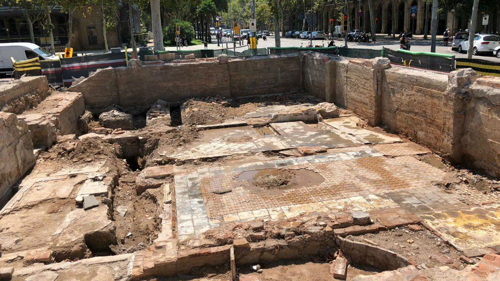 Restes arqueològiques del Palau de les Belles Arts