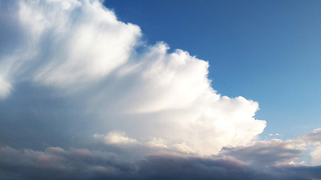 Imatge del núvol de tempesta del 22 de juliol