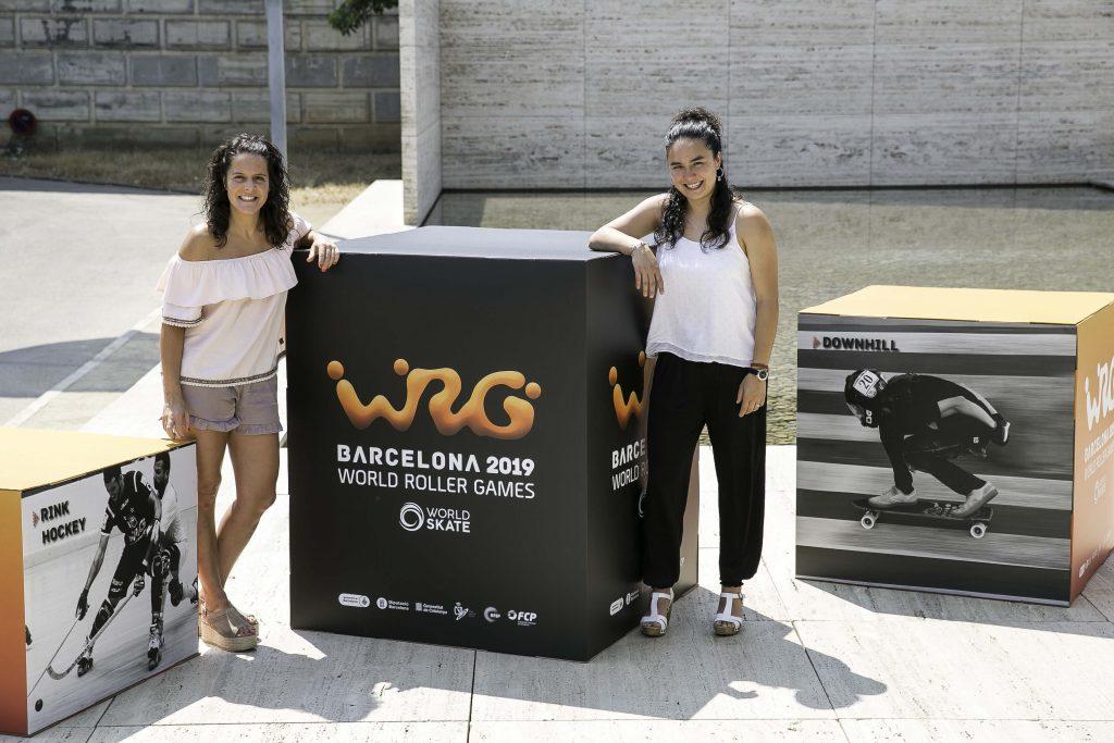 Anna Quintana i Tasha Lee, capitanes del CPA Olot i selecció espanyola hoquei patins respectivament