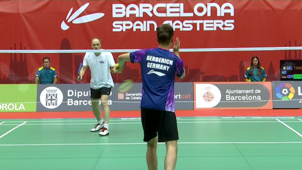 Barcelona Spain Masters badminton