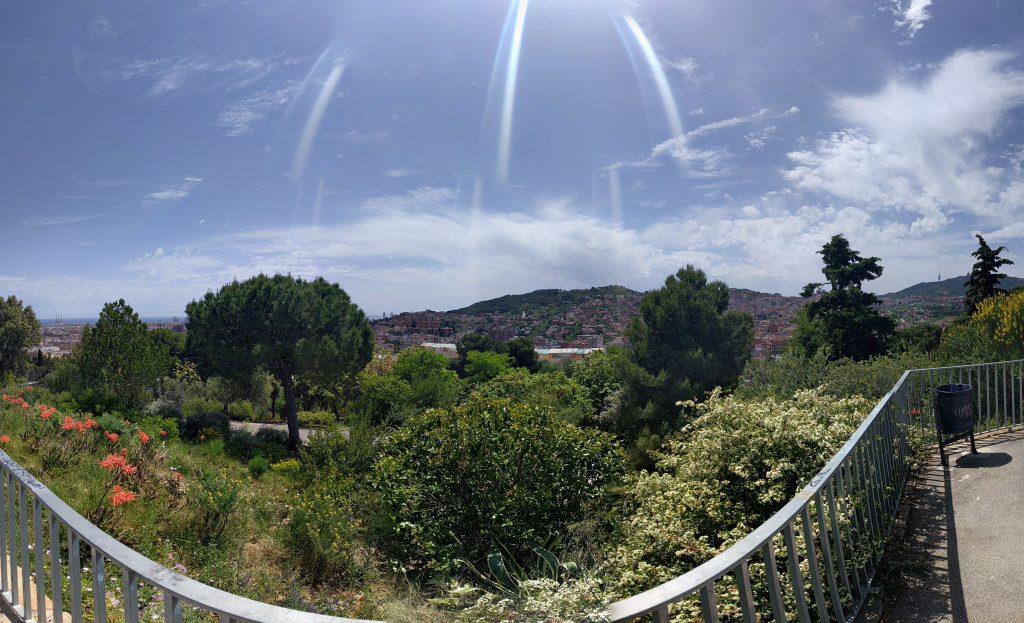 Vista des del turó de la Peira