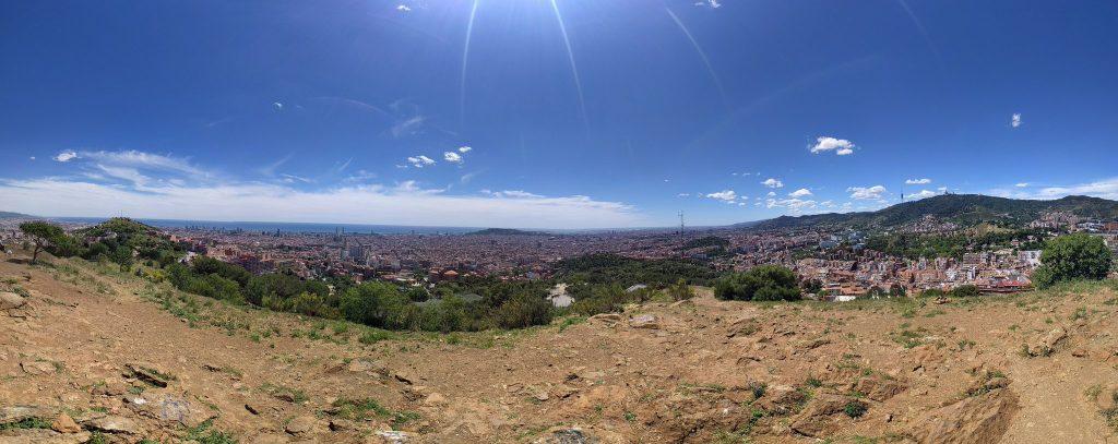 Vista des del turó del Carmel