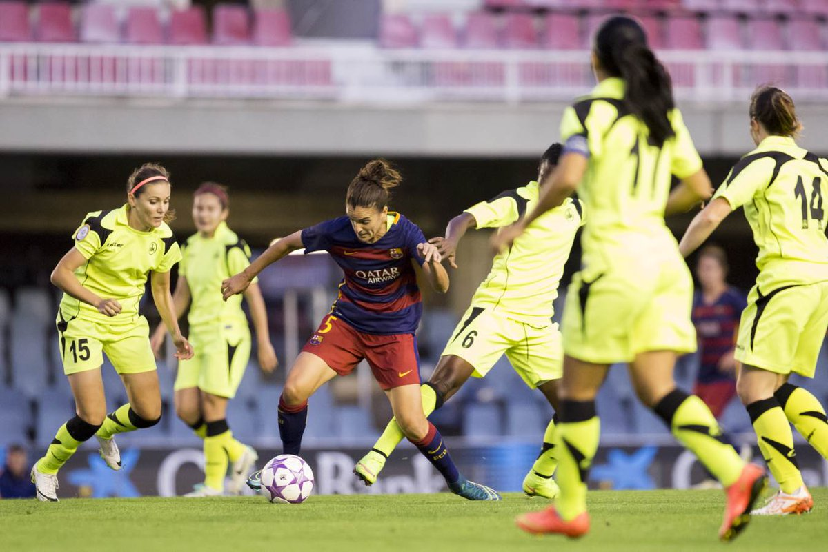 Barça-Kazygurt Champions femenina