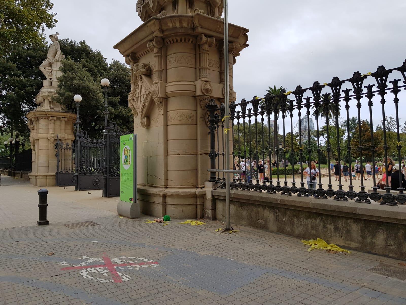 Agressió al parc de la Ciutadella