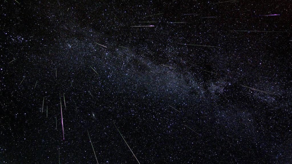 Imatge d'estels fugaços