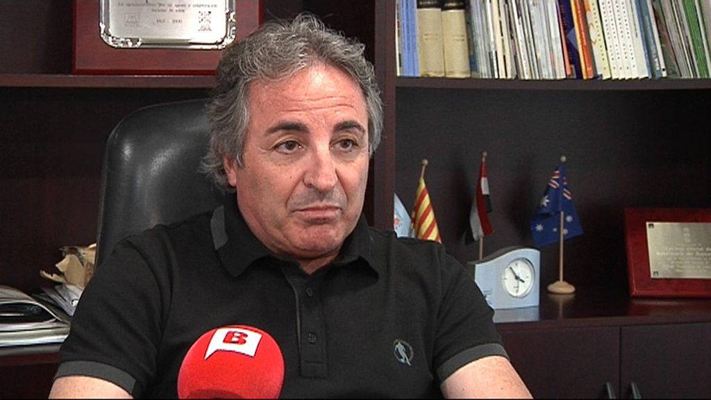 Josep Gómez, president del Col·legi de Veterinaris