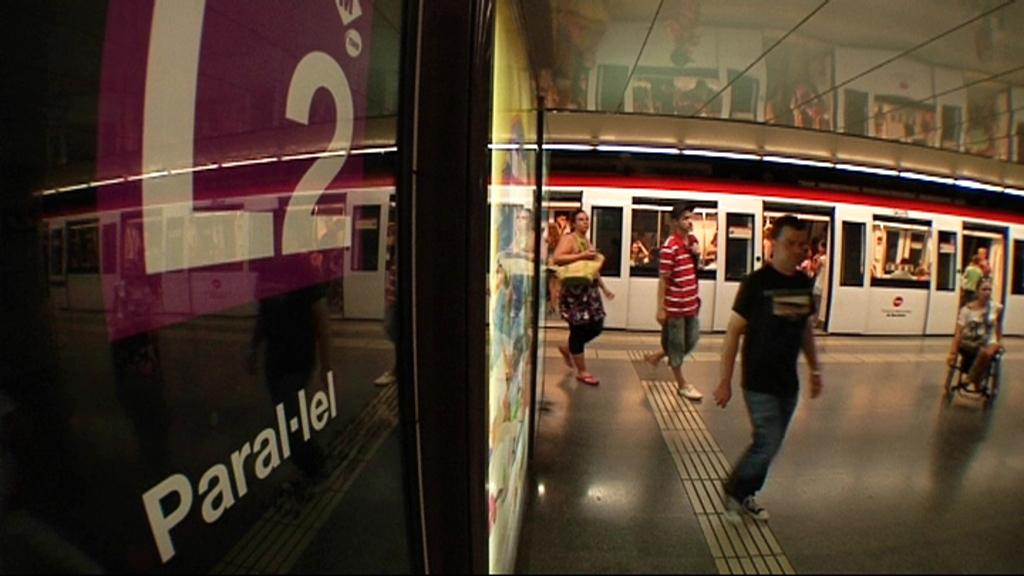 Vestíbul estació metro Paral·lel