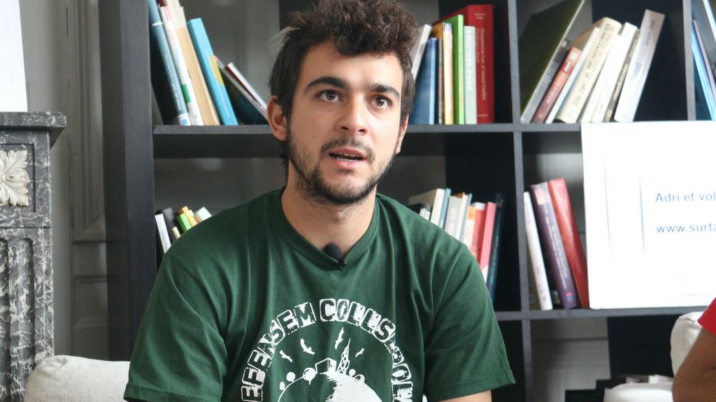 Adrià Carrascó, activista del CDR