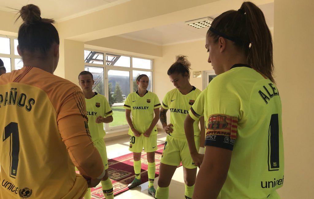 Barça femeni Champions 2018 2019
