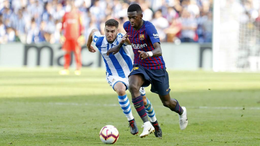 El Barça s'enfronta a la Reial Societat