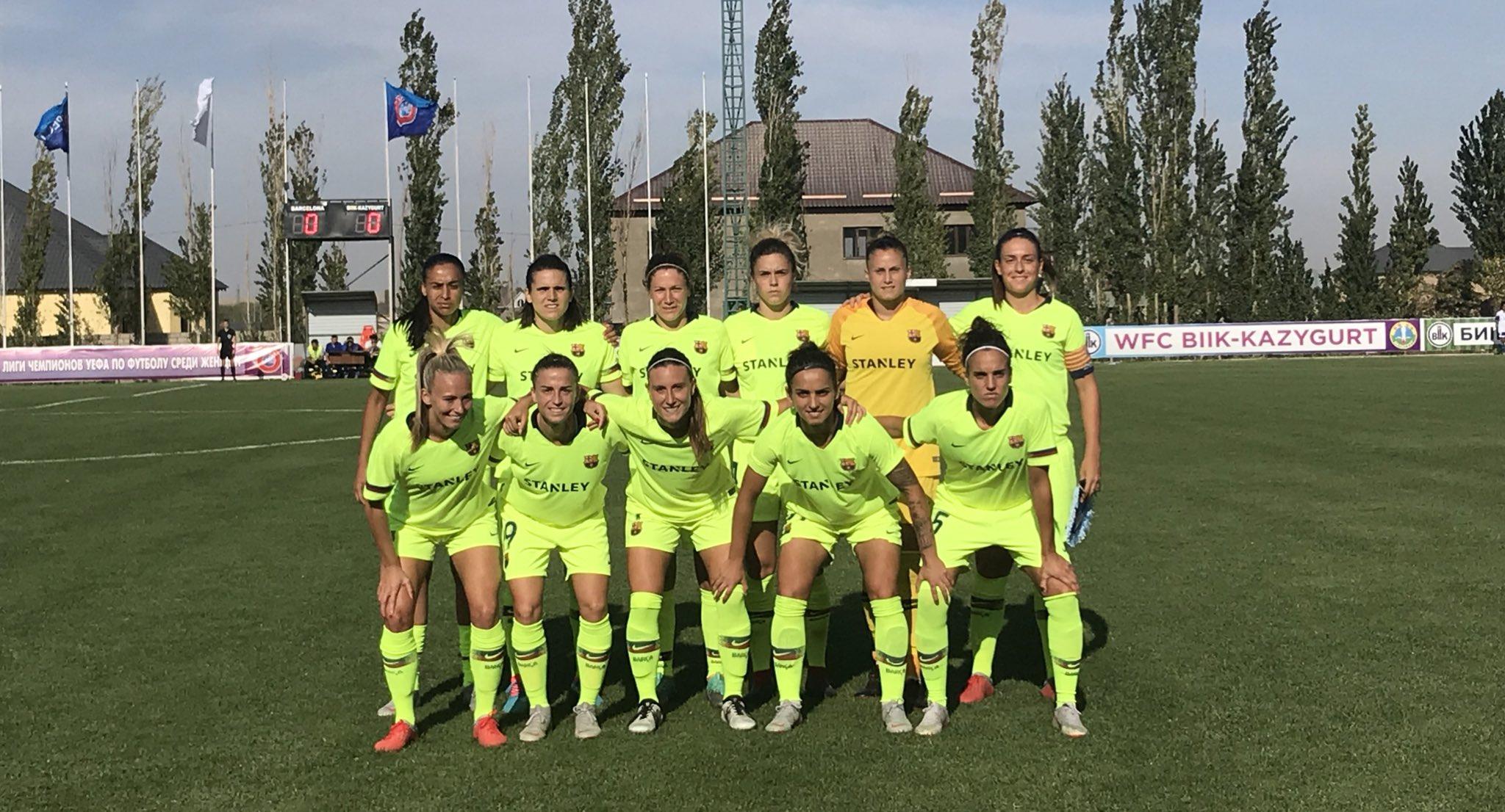 Barça femení setzens final Champions anada