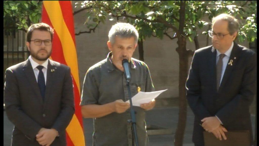 Jaume Casamitjana, representant dels afectats per l'1-O