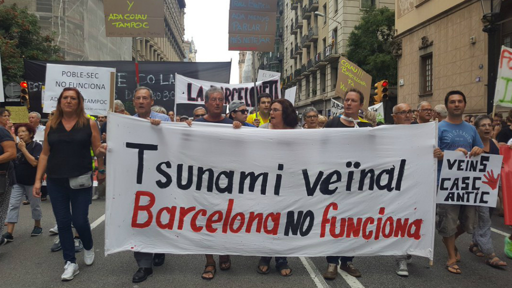 """""""Tsunami veïnal"""" contra la inseguretat i l'incivisme"""