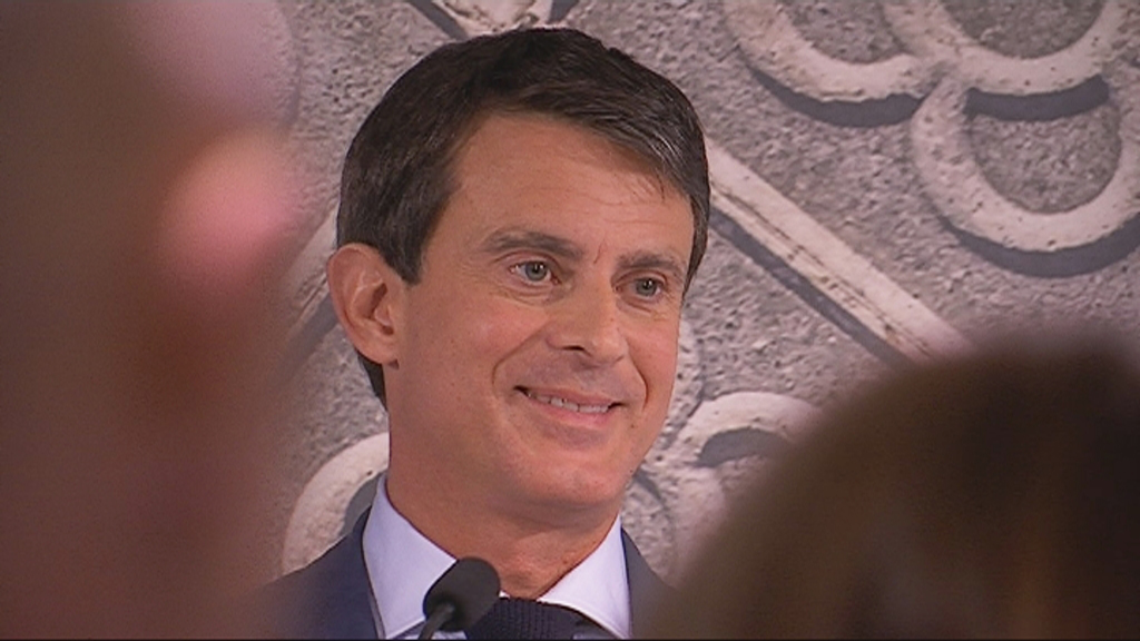 Manuel Valls presenta Barcelona, Capital Europea