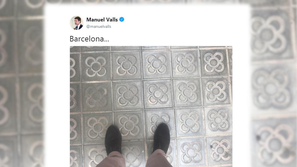 Tuit Manuel Valls