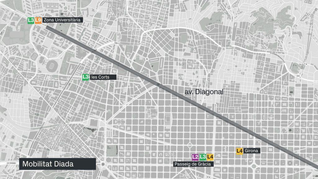 Mapa Trams Diada 2018.Com Moure S Per Barcelona Per La Diada 2018 Metro Bus I