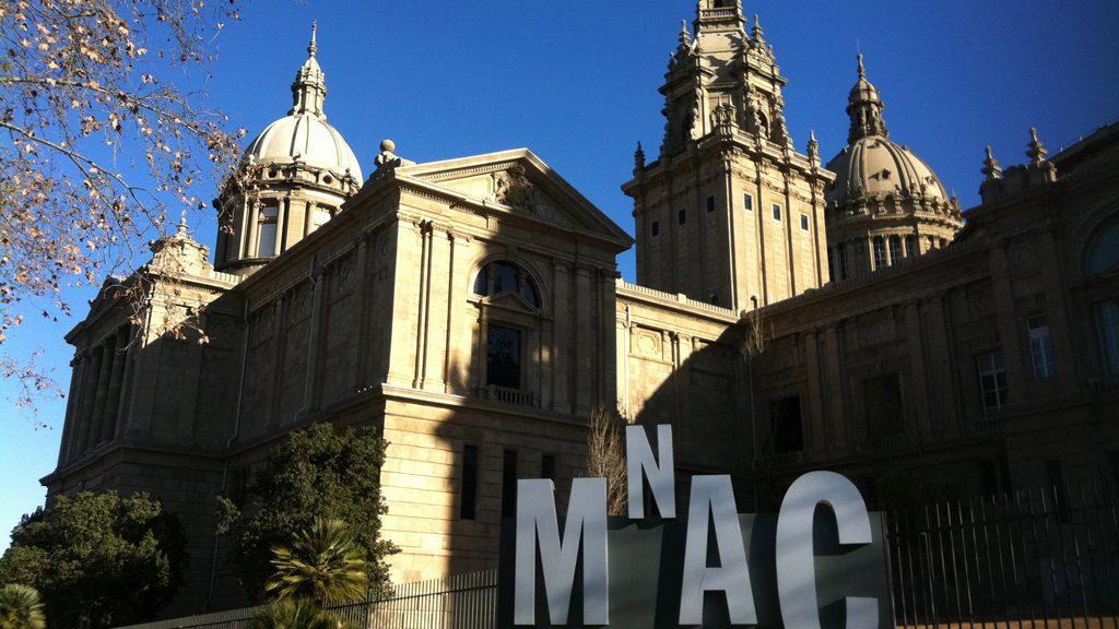 Façana del MNAC