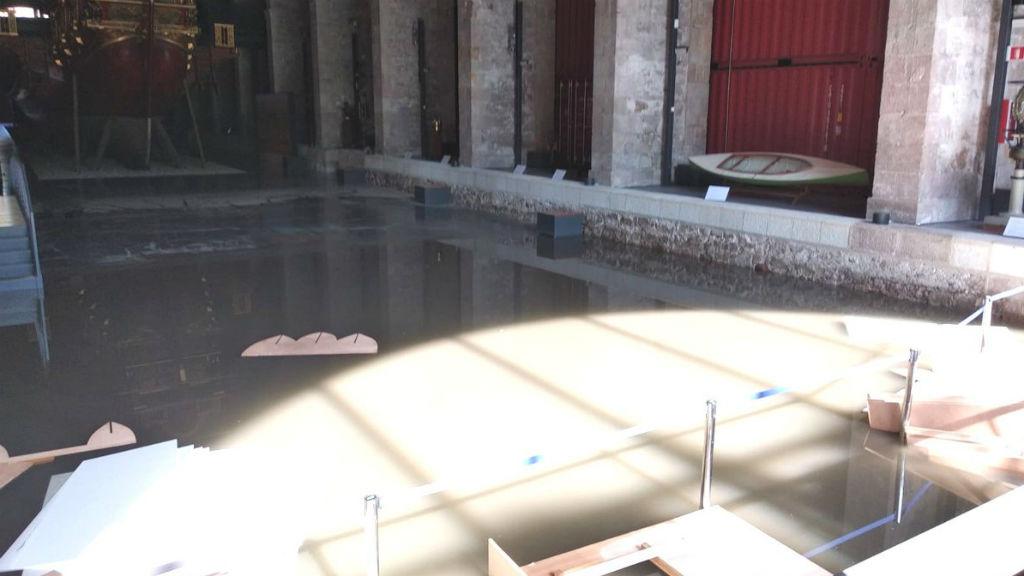 museu marítim inundat