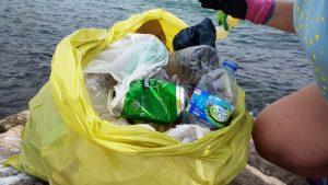 Ampolles, llaunes i bosses, entre la brossa més habitual