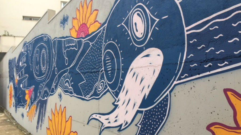 Tallers Oberts Poblenou Mural Va Jo