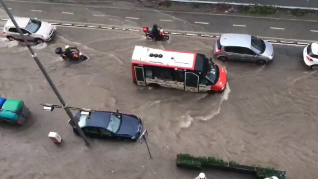 Inundació al Paral·lel