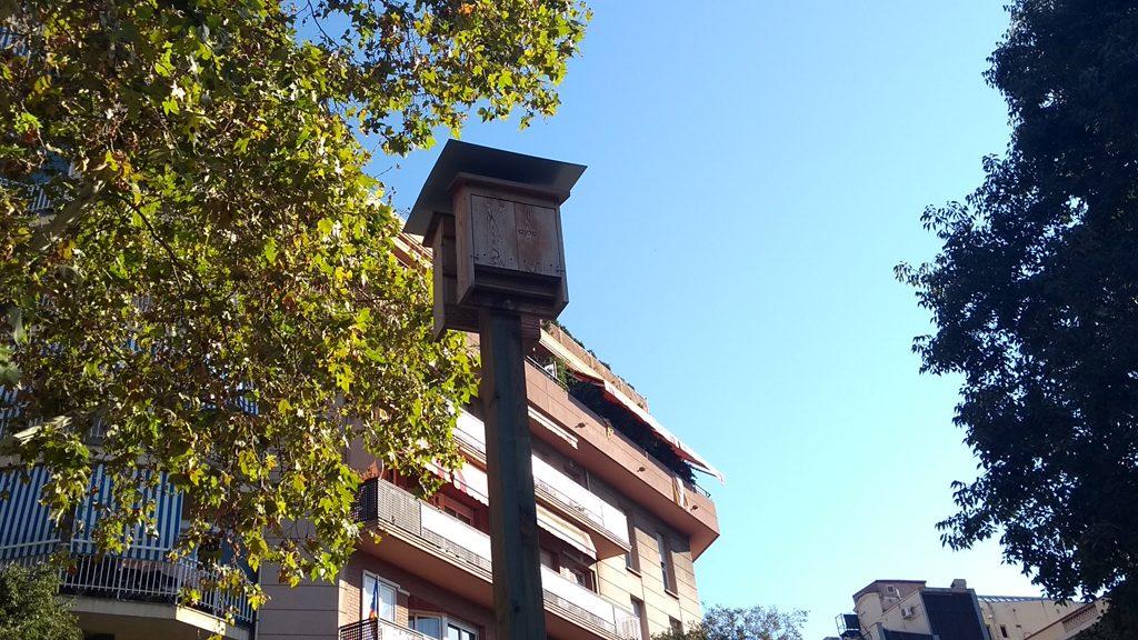 Imatge d'una torre niu de ratpenat