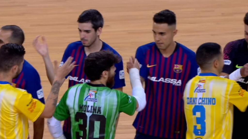 Imatges partit FC Barcelona - Peníscola (futbol sala)